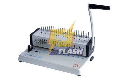 máy đóng sách gáy nhựa silicon