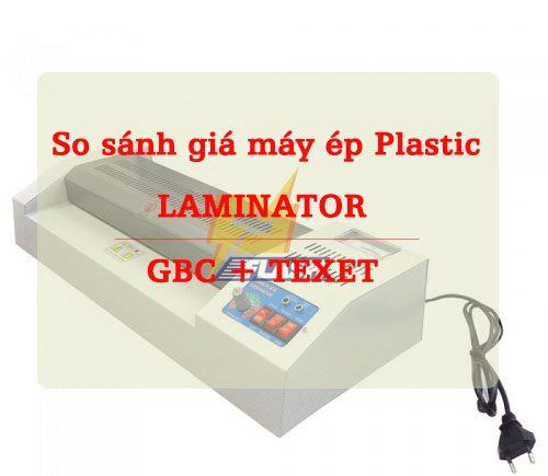 báo giá máy ép plastic laminator