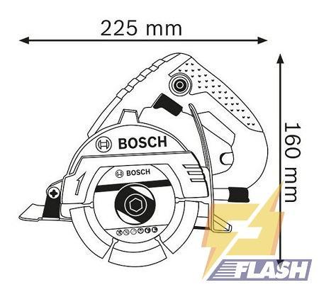 Máy cắt Bosch GDM 121