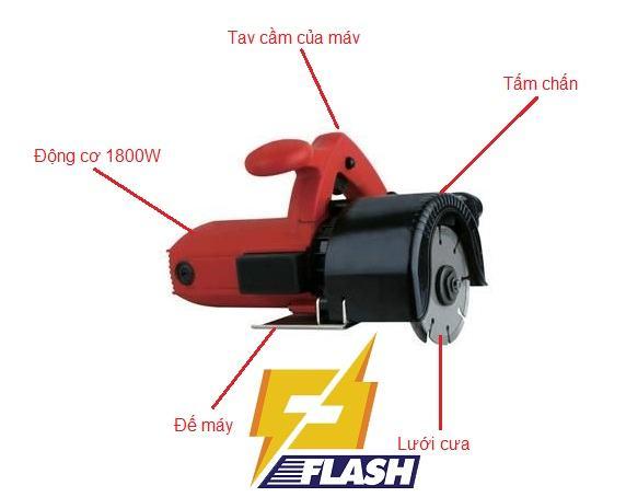 máy cắt rãnh FEG- 113W