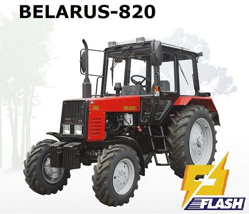 máy cày Belarus 820