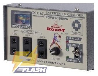 máy đổi điện robot 300VA