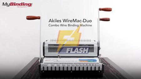máy đóng sách Wiremac Duo