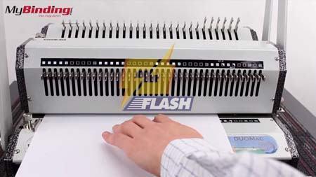 máy đóng sách gáy xoắn kẽm Wiremac Duo