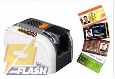 thiết bị in thẻ nhựa Hiti CS200e