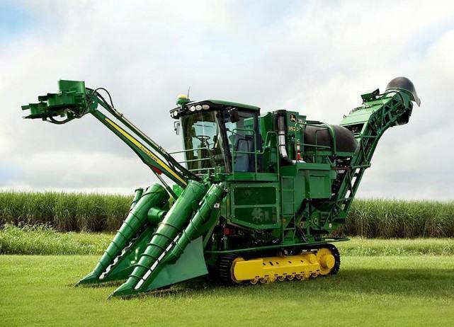 Máy thu hoạch mía John Deere CH570