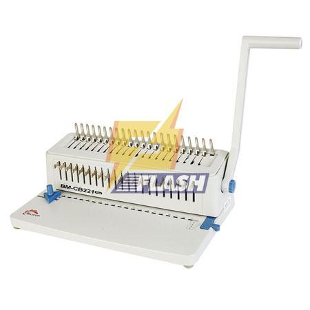 máy đóng sách gáy xoắn cuộn silicon