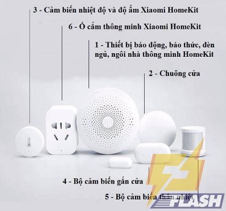 Thiết bị báo trộm xiaomi smart home kit
