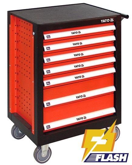 Tủ đựng đồ nghề Yato 7 ngăn YT- 09104
