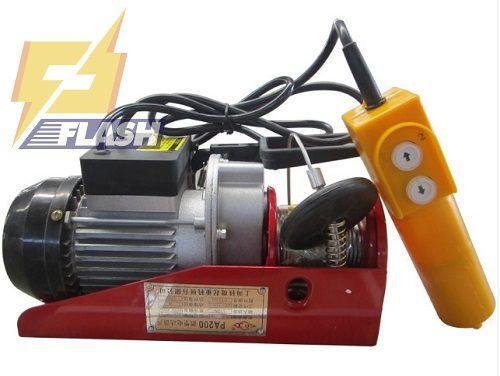 Tìm hiểu về máy tời điện mini HUGO PA1000-12m 12 mét - 261362