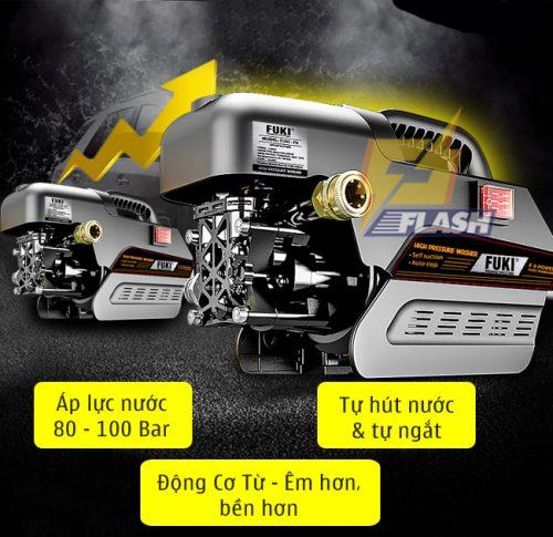 máy rửa xe cao áp 1800w