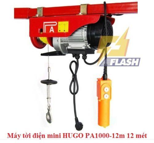 Tìm hiểu về máy tời điện mini HUGO PA1000-12m 12 mét - 261359