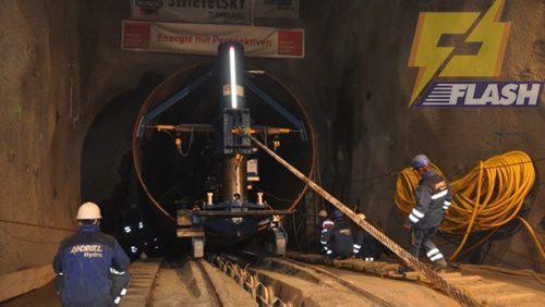 Hệ thống tời vận chuyển trong hầm mỏ