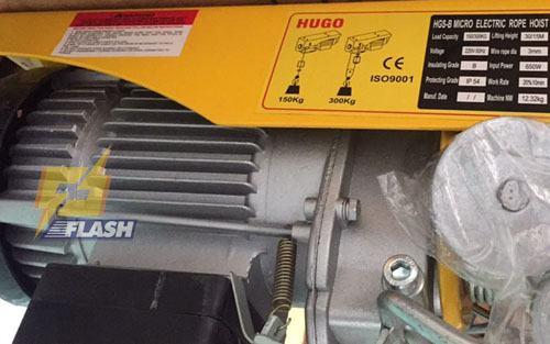 Dòng máy tời điện 500 kg
