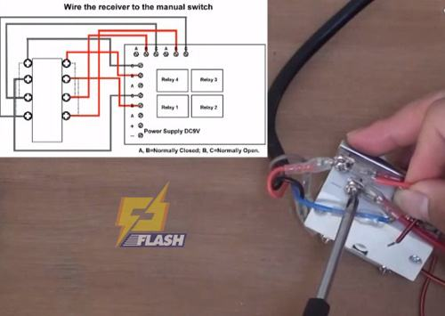 Mạch điện điều khiển máy tời