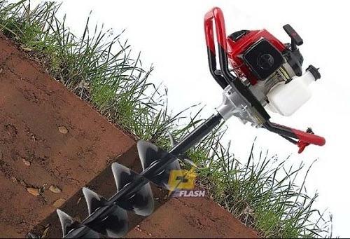 Máy khoan lỗ trồng cây chạy điện