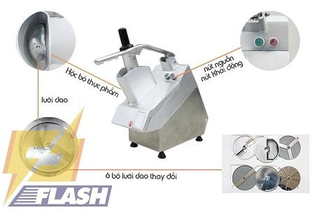 máy cắt rau của quả VC60 MS