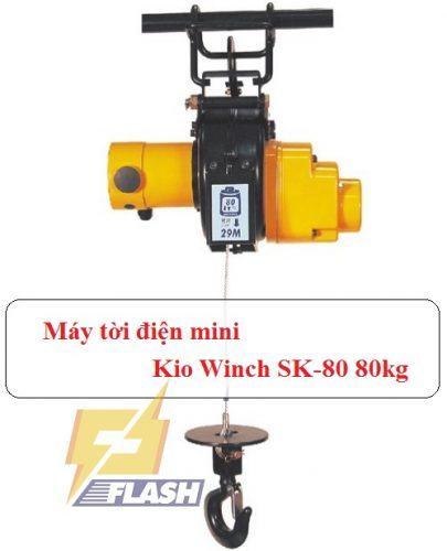 Thông tin A-Z máy tời điện mini Kio Winch SK-80 80kg - 261660