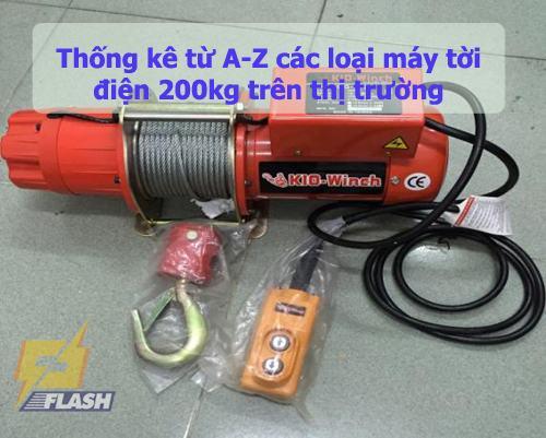Tời điện 200kg
