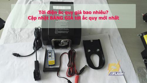 Tời điện ắc quy giá bao nhiêu