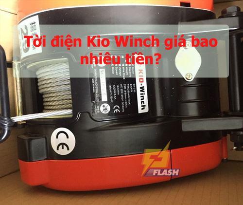 Tời điện Kio Winch giá bao nhiêu