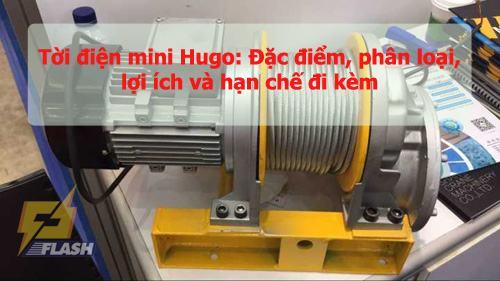 Tời điện mini Hugo