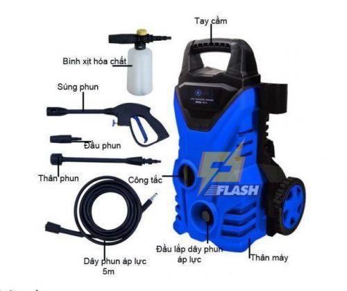 máy rửa xe áp lực mini Nhật Bản