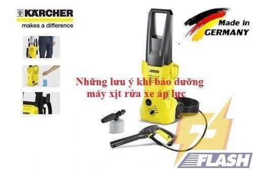 bảo dưỡng máy rửa xe áp lực cao