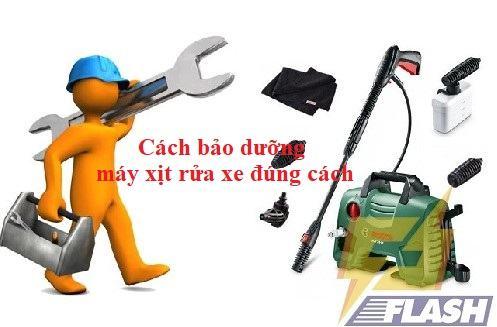 bảo dưỡng máy xịt rửa xe