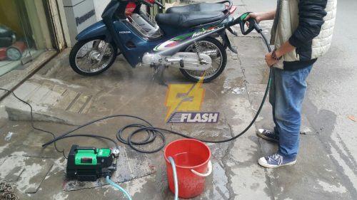 tăng tuổi thọ máy rửa xe mini