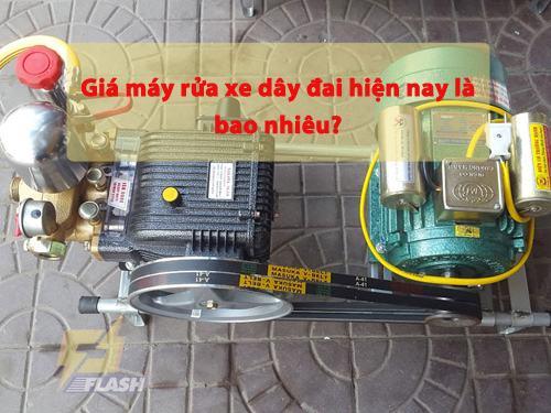 giá máy xịt rửa xe dây đai