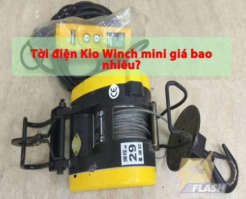 Tời điện Kio Winch mini giá bao nhiêu