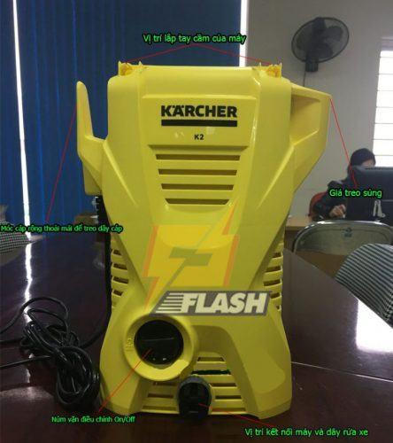 Sửa chữa máy xịt rửa xe Karcher
