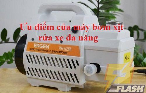máy bơm rửa xe đa năng