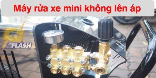 máy xịt rửa xe mini không lên áp