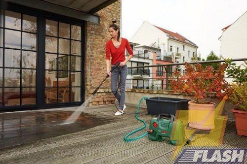máy rửa xe gia đình có bền không