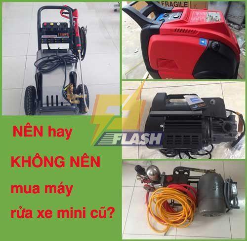 máy rửa xe mini cũ