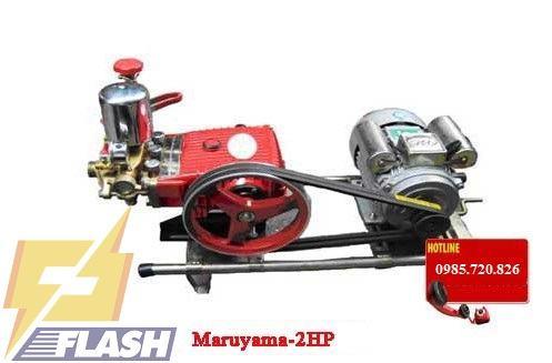 máy rửa xe áp lực cao mini dây đai