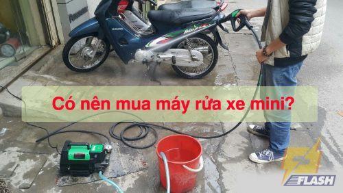 có nên mua máy rửa xe mini