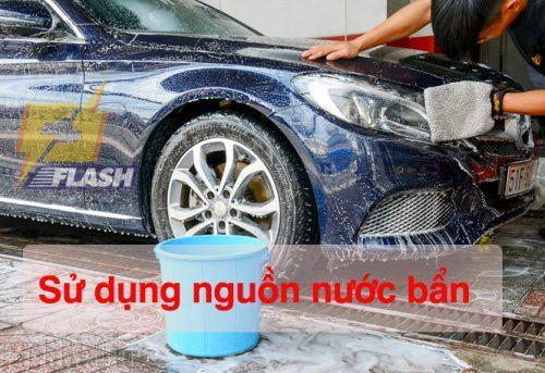 máy rửa xe cao áp mini không lên áp