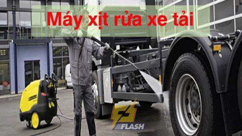 Máy xịt rửa xe tải