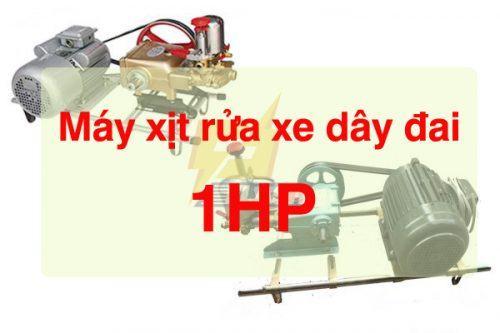 máy xịt rửa xe dây đai 1HP