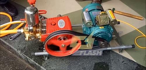 máy rửa xe dây đai Nhật Bản
