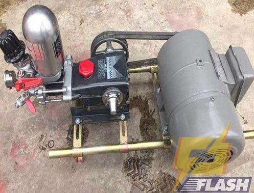 máy xịt rửa xe áp lực dây curoa cũ