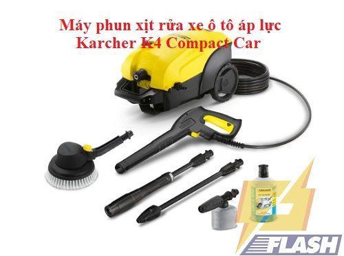 máy phun xịt rửa xe ô tô áp lực karcher