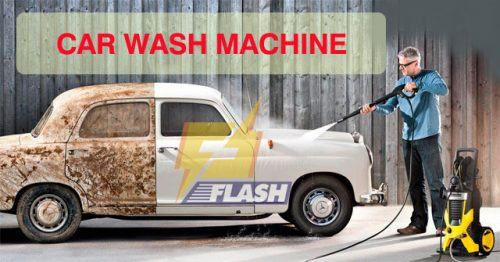 Máy xịt rửa xe tiếng anh là gì