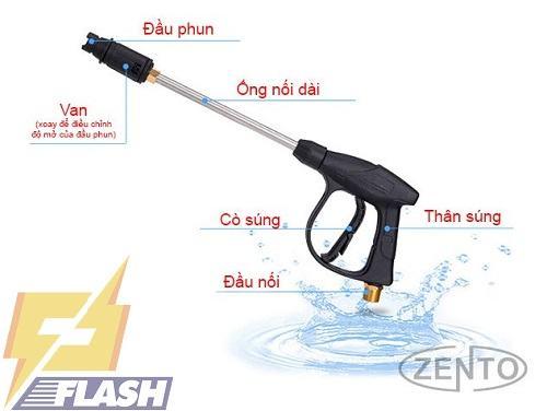 Súng phun máy phun xịt rửa xe áp lực