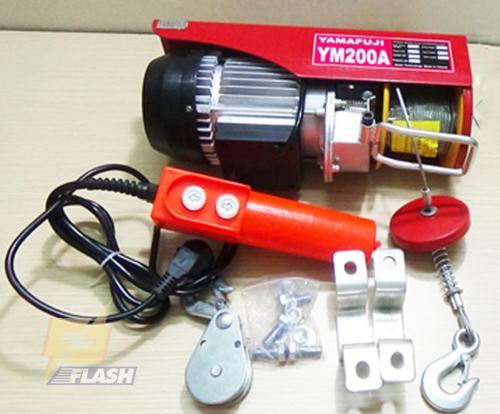 Gợi ý một số loại máy tời điện 1 pha, 3 pha phổ biến hiện nay - 261291