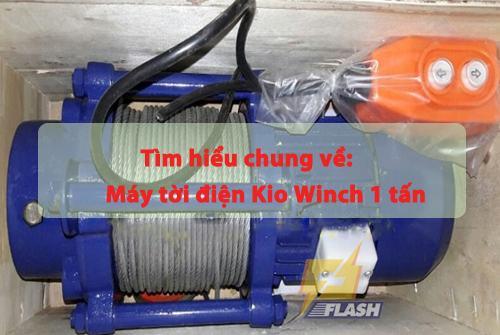 tời điện Kio Winch 1 tấn