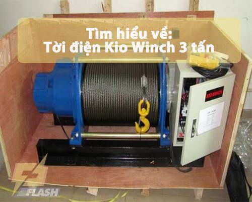 Tời điện Kio Winch 3 tấn